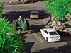 Pursuit  1/16/2018 (THE RANGE PRODUCTIONS) Tags: greenlight model toy dioramas diecast diecastdioramas 164scale hoscalefigures ertl dodgechargerpursuit modular tractor farm johndeere