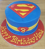 superman (backhomebakerytx) Tags: cake birthday kid superman super hero superhero backhomebakery