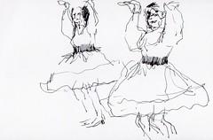 usk luxembourg march sketchcrawl : portuguese dancers at the festival des migrations, des cultures et de la citoyennite, luxembourg #clae #usk #urbansketchers #uskluxembourg #urbansketchersluxembourg #festivaldesmigrations (leenvanbogaert) Tags: clae usk urbansketchers uskluxembourg urbansketchersluxembourg festivaldesmigrations