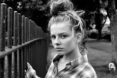 Girl From The North Country (plot19) Tags: love light liv olivia girl daughter teenager bob dylan from north country manchester street blackwhite plot19 photography portrait family england english britain british uk