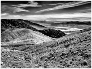 - The Amargosa Mountain Range and the Badlands -