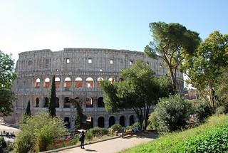 Coliseo de Roma (Italia, 13-10-2017)
