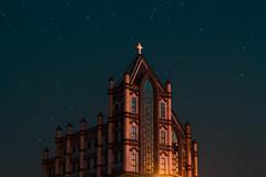 Sky and church⛪⛪⛪ . . . #life #chill #kaohsiung #city #taiwan #taiwan1 #photo #photography #building #instagram #instgood #disney #castle #church #night #starry #starrynight #starrysky #light #lightroom #lightroomtaiwan #photoshop #am (sj308520) Tags: justgoodshot city starrysky starrynight life starry kaohsiungbravo light instagram photoshop building 60d church disney instgood kaohsiung amazingkaohsiung night canon photography taiwan1 lightroomtaiwan castle photo lightroom canontaiwan camera chill taiwan
