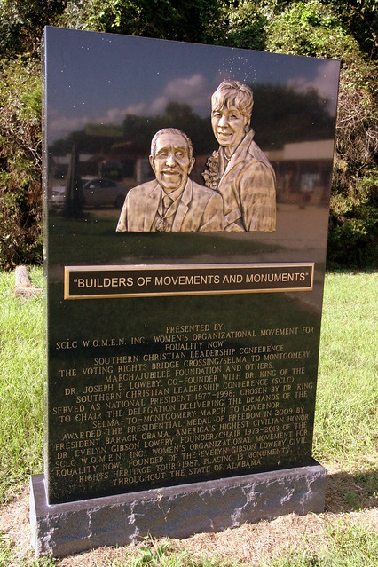 Dr. Joseph Lowery & Dr. Evelyn Gibson Lowery - Civil Rights Memorial Park, Selma, AL