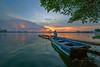 _U1H0390.0917 West lake Hanoi (HUONGBEO PHOTO) Tags: canoneos1dsmarkiii sigma1224mm hànội hoànghônhồtây clouds westlake boat sky sunset outdoor