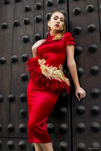 10 Vestido de fiesta de fiesta rojo