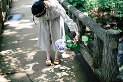 (eripope) Tags: women summer park flower relaxing girl japan 5dmark3 canon portrait tokyo