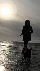 Day out at the beach (adamconnor94) Tags: sun lytham england seaside sea puppy girlfriend escape sunshine beach