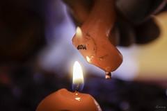 Happy birthday (ancoay) Tags: aniversari anniversaire happybirthday macromondays macro flama flame espelma candle llama 7dwf canon600d ancoay bougie