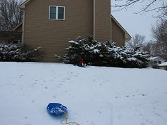 Avalon & Avery Sled Fall Video (Jaimee and Brian) Tags: avalon tenyears avery sixyears video illinois