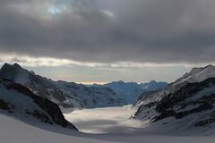 Jungfraufirn als oberer Teil des grossen Aletschgletscher ( Gletscher glacier ghiacciaio 氷河 gletsjer ) in den Walliser Alpen - Alps unterhalb dem Jungfraujoch im Kanton Wallis - Valais der Schweiz (chrchr_75) Tags: hurni christoph januar 2018 schweiz suisse switzerland svizzera suissa swiss chrchr chrchr75 chrigu chriguhurni chirguhurnibluemailch gletscher glacier ghiacciaio 氷河 gletsjer kantonwallis kantonvalais wallis valais albumgletscherimkantonwallis alpen alps