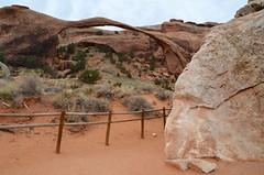 Landscape Arch (Joe Shlabotnik) Tags: nationalpark utah 2017 arches arch archesnationalpark landscapearch november2017 moab afsdxvrzoomnikkor18105mmf3556ged
