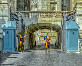 Pontifical Swiss Guard Vatican City, Rome