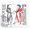 Fürstentum Liechtenstein Sondermarke vom 09.09.1999 (ulrichzeuner) Tags: faust goethe briefmarken