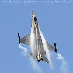 6510 Belgian F16 Display (photozone72) Tags: eastbourne airshows aircraft airshow aviation f16 belgianairforce belgian canon canon7dmk2 canon100400mm 7dmk2 jet