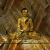 """Doubt everything. Find your own light."" -- Gautama Buddha (msdonnalee) Tags: buddha gautamabuddha statue museum digitalart gold digitalfx religiousicon buddhism artdigital bampfa"