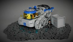 Febrovery - X-rover (adde51) Tags: adde51 lego moc febrovery 2018 classicspace space ground technique cargo vehicle foitsop crate thelegocarblog