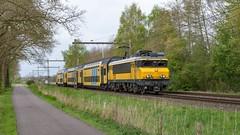 Bathmen NSR1733+DD-AR 7317 Sprinter 7027 Almelo (Rob Dammers) Tags: bathmen overijssel nsr 1733 trein ddar3 nederland