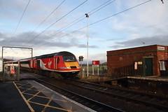 43290 Widdrington, Northumberland (Paul Emma) Tags: uk england northumberland widdrington railway railroad dieseltrain train hst 43290
