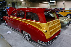 1949 Chevrolet Woody (bballchico) Tags: 1949 chevrolet woody woodie stationwagon custom gnrs2018 carshow daviddavey