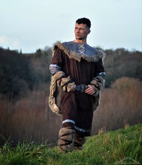 The Viking (Klinikle) Tags: male model viking warrior historical history nordic norse nature horizon landscape forest