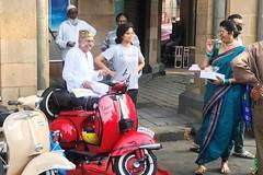 _8244 (Yazed Lord) Tags: vintage rally feb2018 mumbai horniman circle bike bikes