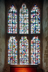 Tower of London Chapel Window (snapdragginphoto) Tags: toweroflondon england fleurdelis stainedglass history tudor henryvi king kings beauty wakefieldtower