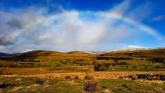 Sunshine, Spectrum & Snow (mandysp8) Tags: winter snow countryside northyorkshire uk rainbow arc spectrum fields horizon