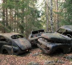 (Jonas.W.) Tags: forgotten abandoned volvo pv skogsvrak car samsung nx300