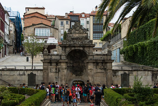 As Burgas Fountain, Ourense