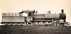 Africa Railways - Tanganyika Railway Class DL 4-8-0 steam locomotive Nr. 200 (Beyer Peacock Locomotive Works, Manchester-Gorton 6128-33 / 1923) (HISTORICAL RAILWAY IMAGES) Tags: steam locomotive bp beyerpeacock manchester gorton africa railway tr 480