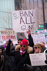 Rally Against Gun Violence Chicago Illinois 2-18-18  9801 (www.cemillerphotography.com) Tags: schoolshootings killings kidschildren students ar15 automaticrifles healthcrisis epidemic bumpstocks militaryweapons assaultrifles bullets insanity mentalhealth rightwing parkland florida lasvegas nevada protest politicians nra nationalrifleassociation complicit guilty mothers families fathers terror lockdown drill highschool