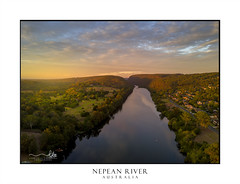 Nepean river Penrith (sugarbellaleah) Tags: nepeanriver gorge river flow water sunrise morning golden light sunlight valley mulgoa penrith emuplains landscape australia pretty amazing kayak sky clouds nature enviironmnt countryside rural farmlands scenic view travel tourism outdoors leonay newsouthwales au