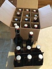Dry Hopped Teddy Bear's Mind, all bottled up (found_drama) Tags: teddybearsmind americanporter americanbrownale woodagedbeer tildegravitywerks essexjunction vermont vt 05452 homebrew homebrewing