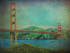 "Where's that confounded bridge #7 (Ba®ky) Tags: babe blonde ""san francisco"" california bridge ""golden gate"""