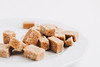 Brown sugar cubes , close up (wuestenigel) Tags: square natural sweet copy cube beige space background healthy diet food macro candy over pile isolated horizontal white raw sugar eating group granulated closeup cubes tasty stack pure ingredient brown pattern top cane view nobody yellow crystal organic