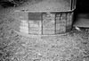 Colored Chalk (aweiss.sf) Tags: analog analogphotography analogue bandw blackwhite chalk compactcamera film filmisnotdead glencanyon glenpark ishootfilm olympus pointandshoot sanfrancisco stylus