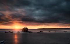 Sunrise plage des rochers à Cannes ( French Riviera ) (AzurScape) Tags: france cannes sunrise longexposure landscape seascape sea mer island rockscape sun alpesmaritimes paca frenchriviera cotedazur