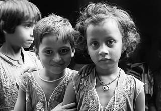 Regards d'enfants  ..  Navadhi India