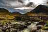 The Crossing Of The Water (Half A Century Of Photography) Tags: glenetive riveretive mountains clouds sky bridge pentaxkr pentax pentaxdal scotland scenery
