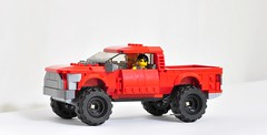 Ford F-150 Raptor (KMP MOCs) Tags: cars car truck ford raptor f150 vehicle lego moc toy toys 4x4 offroad offroader trucks