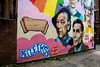 XPRO5314-1 Canal Street, Manchester, uk (Lawrence Holmes.) Tags: fuji xpro1 canalst gay village manchester uk streetart wallart turing alanmathisonturing crisp lawrenceholmes httpstwittercomdirtyworkmanclangen