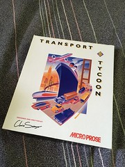 Transport Tycoon (CR1 Ford LTD) Tags: oldcomputergames computergames transporttycoon tycoongame tycoon transporttycoongame harddisk harddrive oldschool chrissawyer chrissawyertycoon chrissawyertransporttycoon microprose