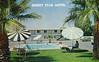 Desert Star Motel, Blythe, California (Thomas Hawk) Tags: america blythe california desertstarmotel usa unitedstates unitedstatesofamerica vintage motel pool postcard swimingpool fav10