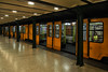 Vörösmarty tér, Budapest... (@oloarge) Tags: budapest metro colore color oloarge underground prospettiva perspective