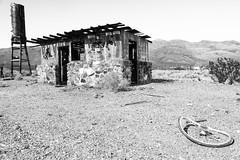 Garlock Road, Randsburg, California (paccode) Tags: solemn d850 landscape desert bushes serious quiet california abandoned monochrome mojave forgotten winter creepy scary hills blackwhite mountain randsburg unitedstates us