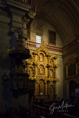 Baroque faith (gusmartinie) Tags: wood holidays company colonial church old andes baroque gold ancient arequipa altar chapel religion religious jesus andean destination statue travel worship sanctuary history tourism society peru altarpiece faith jesuit
