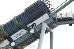High Gamma Radiation - Stand Clear (dvn225) Tags: universalorlando orlando florida themepark rollercoaster islandsofadventure incrediblehulkcoaster hulk marvel superhero bm bolligermabillard mardigras