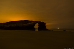 Playa de las Catedrales I (enogueroles) Tags: eduardo nogueroles playa catedrales lugo galicia españa nocturna