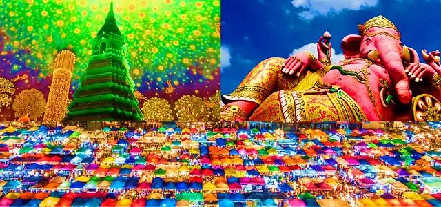 タイのフォトジェニックスポットツアー(フォトジェニックな景色が楽しめるオプショナルツアー)